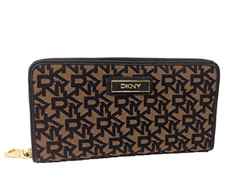 DKNY SLGS-Heritage w/ Saffiano PVC Wallet (Go…