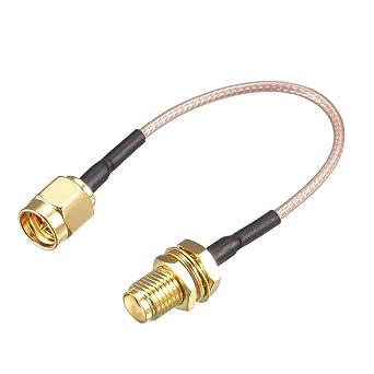 Amazon.com: uxcell RG-178 - Cable coaxial RF de baja pérdida ...