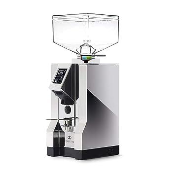 Eureka MCI Espressomühle mit Timer Chrom Kaffeemühle MCI/MT220C-951 Elektrische Scheibenmühlen