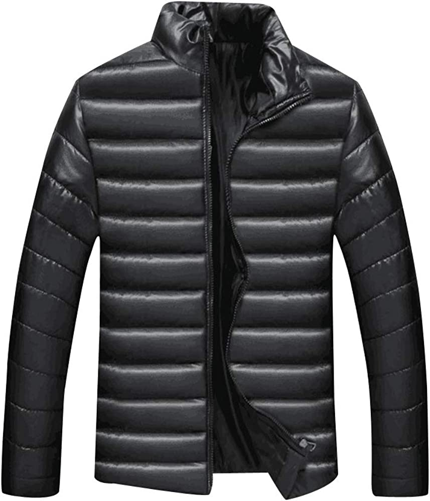 Casual Full Zip Jacket Cold Protection Coat for Men XFentech Warmth Jacket