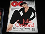 GQ Magazine (JULIA ORMOND , Digital nation , CBS's New Golden Boy , Clothes, May 1996)