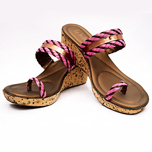 15931be6a LA BELLA LADIES FANCY SANDALS (4)  Buy Online at Low Prices in India ...