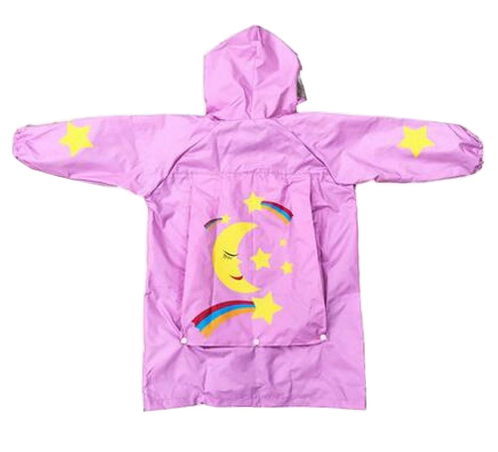 Lovely Children Raincoat Kids Rainwear Rain Jacket for Student Star