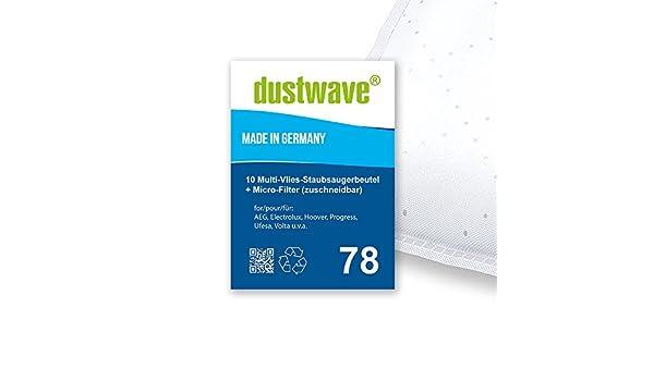 /10/bolsas para aspiradoras AEG/ Pack de ahorro/ /Aspiradora de dustwave/® Marca Bolsa para el polvo Fabricado en Alemania /Smart 485/ Incluye Micro de filtro