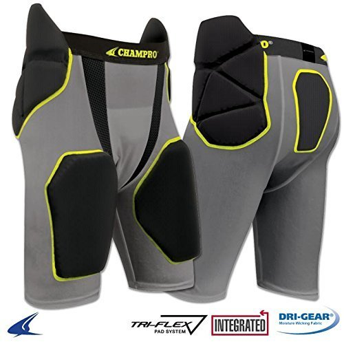 Champro Youth Tri-Flex Integrated 5 Pad - Football Pad 5