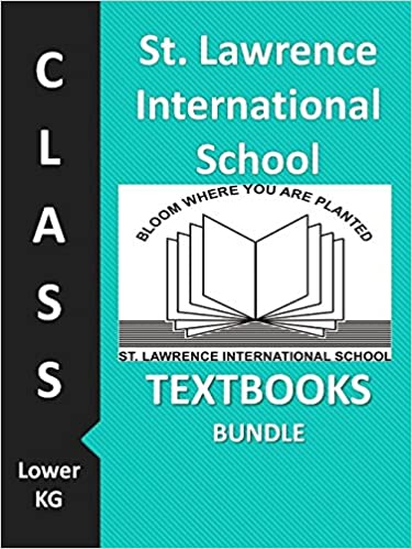 St. Lawrence International School Class Lower KG Textbook Bundle ...