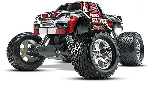(Traxxas 41094-1 Nitro Stampede: 2WD Nitro-Powered Monster Truck, Ready-to-Race (1/10-Scale), Colors May Vary)