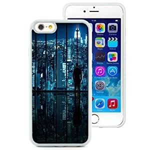 NEW Unique Custom Designed iPhone 6 4.7 Inch TPU Phone Case With New York Glass Window View_White Phone Case