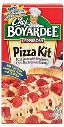 Chef Boyardee Pizza Kit Pepperoni, 16.17 Oz (Pack of 4)