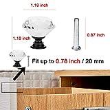D-buy 12 Pack 30mm Cabinet Knobs Drawer Pulls