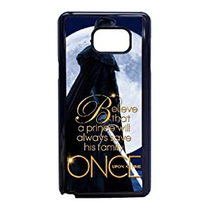 Once Upon A Time for Samsung Galaxy Note 5 Cell Phone Case & Custom Phone Case Cover R38A879947