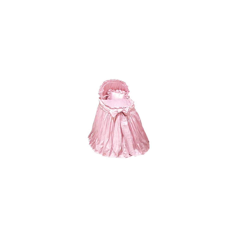 bkb Prima Donna Bassinet Set, Pink