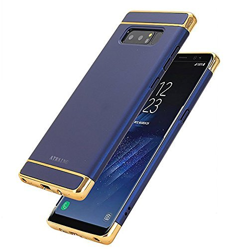 ATRAING Galaxy Note8 CaseA Trading Shockproof Thin Hard Case Cover For Blue