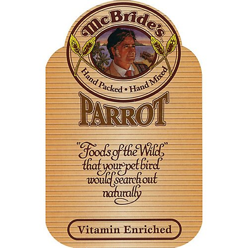 - McBrides Parrot Bird Seed Mix 5 pound