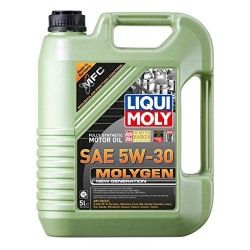 Liqui Moly Molygen New Generation SAE 5W-30 Motor Oil 5L - Moly Motor