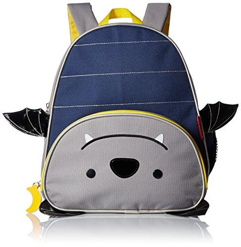 Skip Hop Toddler Backpack, 12 Bat School Bag, Multi