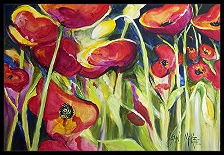 18 x 27 Multicolor Carolines Treasures JMK1090MAT Blue Crab Indoor or Outdoor Mat