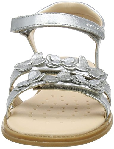Karly Geox J Sandal Girl Ouvert IBout Fille Argentsilver oeWQrCdxB