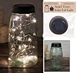 Angel Tears Solar Light Mason Jar Lid