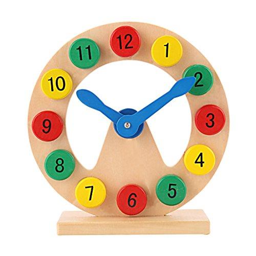 GYBBER&MUMU Wooden Digital Geometry Block Clock