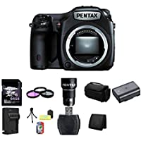 Pentax 645Z Medium Format DSLR Camera (Black) 128GB Bundle 2