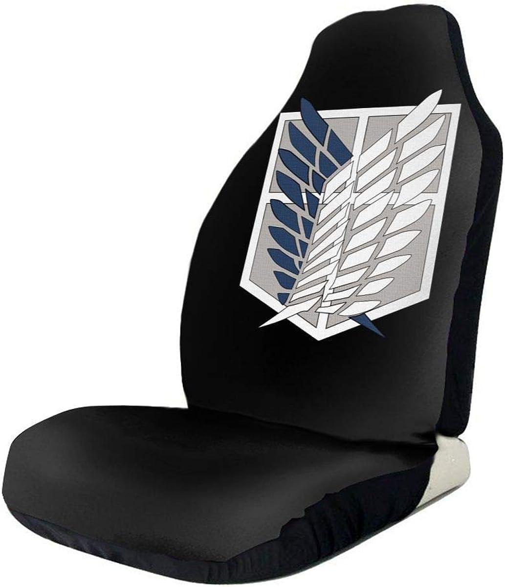Protect U Attack On Titan Autositzbezug Insgesamt Umgeben Universal Fit Autositzbezug 1 // 2PCS 1 PCS /& Acirc
