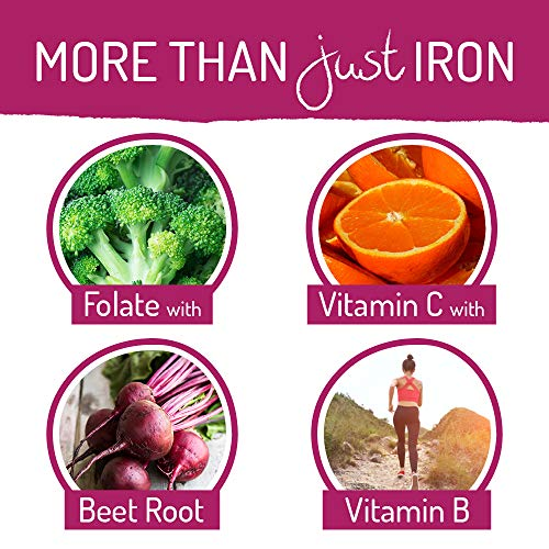 MegaFood Blood Support for Healthy Iron Levels, Energy, Blood Cell Nausea or Gluten-Free,