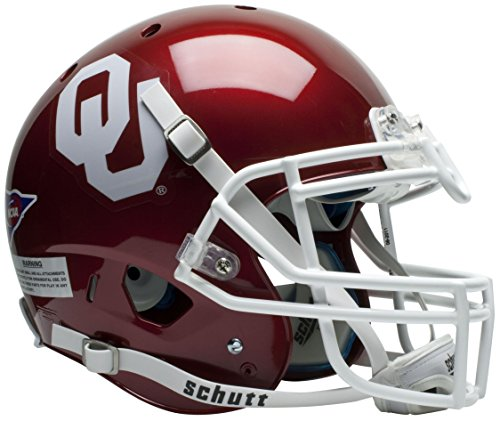NCAA Oklahoma Sooners Authentic XP Football Helmet by Schutt