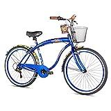 "Margaritaville Coast is Clear Men's Beach Cruiser Bike, 26"""