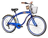 Margaritaville Coast Is Clear Men's Beach Cruiser Bike, 26-Inch