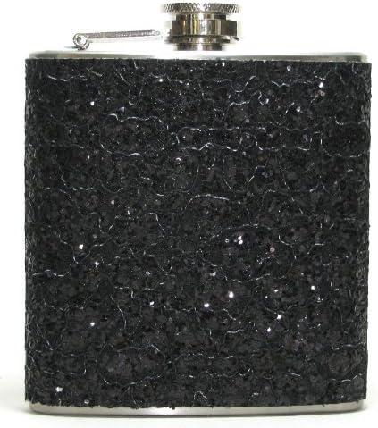 Glittered flask