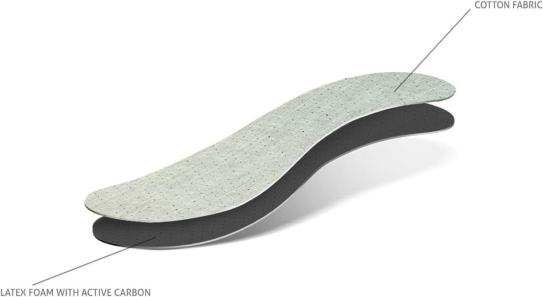 Kaps Semelles anti-odeurs avec charbon absorbant les odeurs empi/ècements de chaussures toutes les tailles anti-odeurs