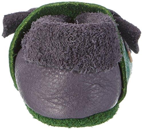 Pololo Hippo, Zapatillas de estar Por Casa Unisex Bebé Rojo (Black)