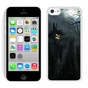 XiFu*MeiPersonalized Design iphone 5/5s TPU Rubber Protective Skin Dark Raven Scarecrow iphone 5/5s TPU Rubber Protective Skin Halloween White iphone 5/5s Case XiFu*Mei1