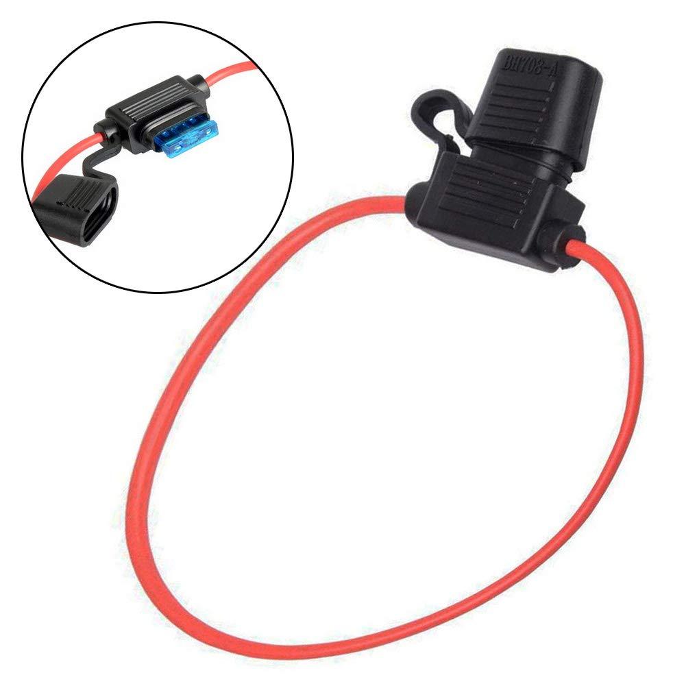 Electrely 5 St/ück Autosicherungen Stromdieb Stecksicherung ATO ATC Flachsicherungen mit 5 St/ücke 20A Sicherung