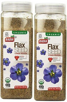 Badia Flax Seeds Whole 16 Oz Pack of 2