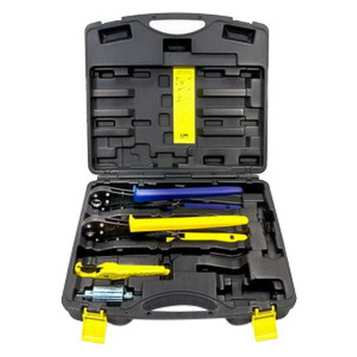 Viega 56000 PureFlow 1/2-Inch and 3/4-Inch PEX Press Tool Set