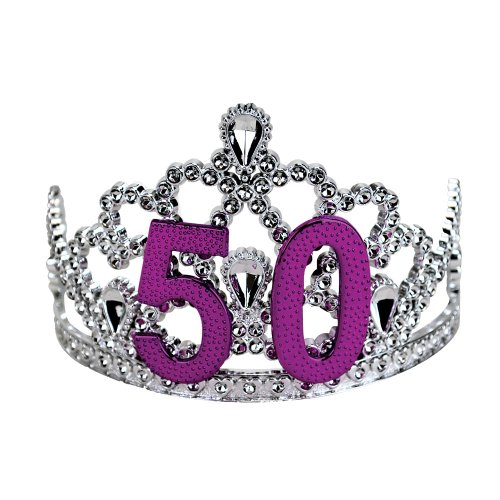 BigMouth-Inc-50th-Birthday-Silver-Tiara