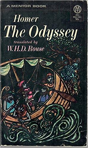 The Story Of Odysseus A Translation Of Homers Odyssey Into Plain