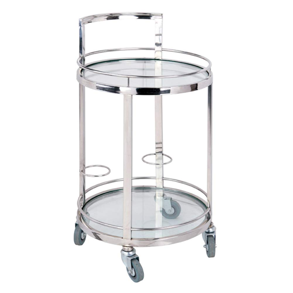 Amazon.com - Serving Trolley Cart Movable Kitchen Stainless ...