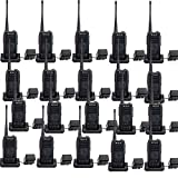 Retevis RT25 Walkie Talkies UHF 400-470MHz 16 CH 5 W VOX Scrambler Squelch Security 2 way radio (20 Pack)