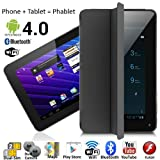 7'' Android 4.4 Phablet Tablet PC + GSM 3G Smartphone Dual-Sim WiFi Bluetooth Smart Cover