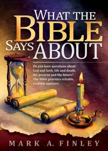 What the bible says about mark a finley 9780816334032 amazon what the bible says about mark a finley 9780816334032 amazon books fandeluxe Choice Image
