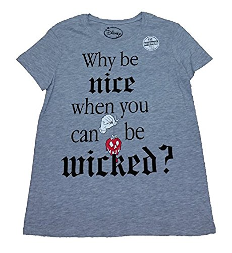 Disney Why Be Nice When You Can Be Wicked Licensed Graphic T-Shirt