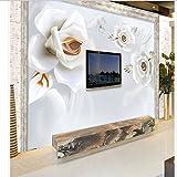 300cmX210cm custom 3D stereoscopic relief jade peony TV sofa backdrop mural ultra environmentally-dimensional space mural,300cmX210cm