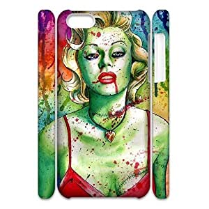 zombie marilyn monroe CUSTOM 3D Hard Case for iPhone 6 (4.5) LMc-07399 at LaiMc
