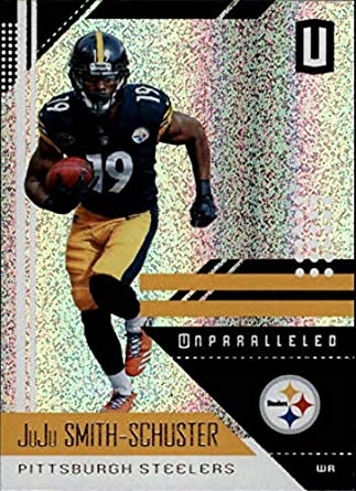 09d659571a1 2018 Panini Unparallel NFL #167 JuJu Smith-Schuster Pittsburgh Steelers  Panini Football Trading Card
