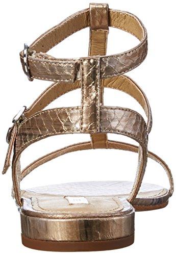 ESPRIT Damen Aely Sandal Knöchelriemchen Beige (230 camel)