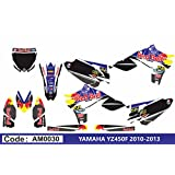 AM0030 YAMAHA YZ450F 2010-2013 10-13 DECALS STICKERS GRAPHICS KIT