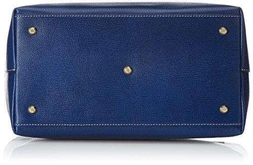 Arcadia 9947, Borsa a tracolla Donna, Blu/Nero, 32 cm